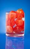 томат сока иносказания стеклянный Стоковая Фотография RF