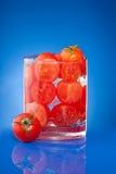 томат сока иносказания Стоковые Фотографии RF