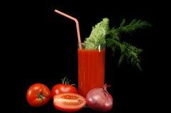 томат сока Стоковая Фотография RF