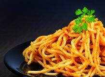 томат спагетти соуса Стоковое Изображение RF