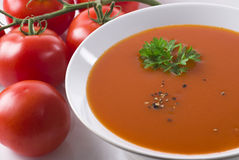 томат супа Стоковые Фотографии RF