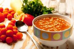 томат супа Стоковое Фото