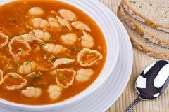томат супа Стоковое фото RF