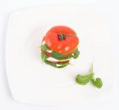 томат с моццареллой Стоковое Изображение