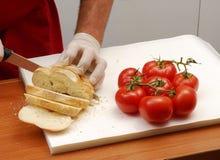 томат хлеба стоковое фото rf
