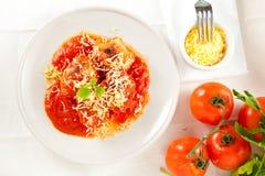 томат яичек сыра заполненный Стоковое Фото