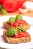 томат crostini Стоковые Изображения RF