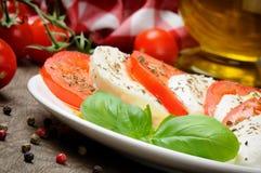 томат mozzarella Стоковое фото RF