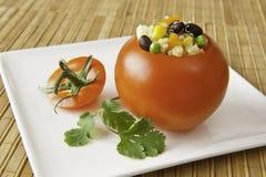 томат quinoa закуски заполненный Стоковые Изображения RF