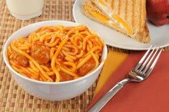 томат spahgetti соуса meatwalls стоковые фотографии rf