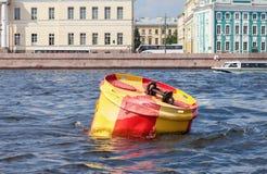 Томбуй анкера в Санкт-Петербурге, России Стоковые Изображения RF