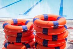 Томбуй кольца спасательный Стоковая Фотография