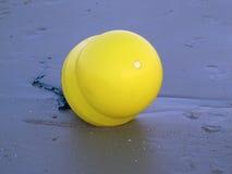 Томбуй на пляже Стоковая Фотография RF