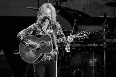 Томми Shaw STYX выполняя на концерте Калифорнии Стоковое Изображение