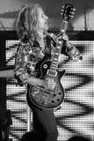 Томми Shaw STYX выполняя на концерте Калифорнии Стоковое Фото