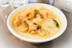 Том-Kha-Kai, тайская еда tradional стоковое изображение