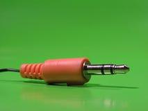 тональнозвуковая штепсельная вилка jack Стоковое Изображение