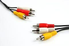 тональнозвуковое видео кабеля Стоковая Фотография RF