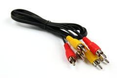 тональнозвуковое видео кабеля Стоковые Изображения RF