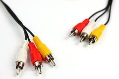 тональнозвуковое видео кабеля Стоковое Изображение