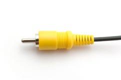 тональнозвуковое видео кабеля Стоковое Изображение RF