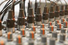 тональнозвуковые входные сигналы Стоковые Фотографии RF