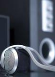 тональнозвуковые головные телефоны Стоковое Изображение RF