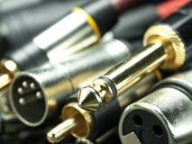 тональнозвуковые кабели стоковое изображение rf