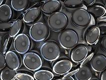 тональнозвуковые дикторы Стоковое фото RF