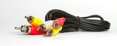 тональнозвуковое видео кабеля Стоковое Фото