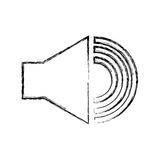 Тональнозвуковое меню интерфейса диктора Стоковые Фотографии RF