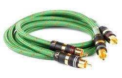 Тональнозвуковой видео- кабель Стоковая Фотография RF