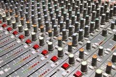 тональнозвуковой звук смесителя Стоковое фото RF