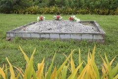 Тонганская могила Стоковое Изображение RF