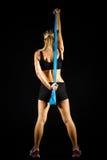 Тонизированная молодая разработка женщины фитнеса. Стоковые Изображения