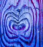 Тонизированный к текстуре лазурного голубого цвета деревянной как сердца внутрь Стоковое Фото