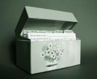 тонизированный рецепт коробки Стоковое Изображение