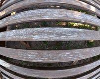 Тонкая деревянная текстура планок Стоковые Изображения