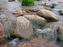 Тонкие речные пороги Стоковое фото RF