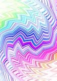 тонкий соплеменный zig zag Стоковое Фото