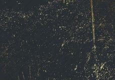 Тонкий темный серый верхний слой текстуры вектора Абстрактное золото splattered предпосылка очарования Поставленный точки фон gru иллюстрация штока