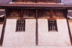 Тонна Kain Wat, деревянная часовня в chiangmai, Таиланде Стоковое Фото