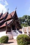 Тонна Kain Wat, старая деревянная часовня в Чиангмае Таиланде Стоковые Изображения RF