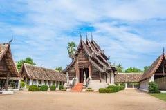 Тонна Kain Wat, старый висок в Чиангмае Таиланде Стоковое Фото