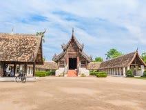 Тонна Kain Wat, старый висок в Чиангмае Таиланде Стоковое Изображение