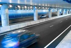 тоннель автомобилей Стоковые Изображения RF
