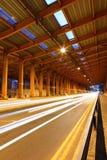 тоннель автомобиля светлый Стоковые Изображения RF