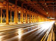 тоннель автомобиля светлый Стоковое фото RF