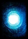 тоннель взрыва энергии Стоковое Изображение