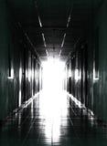 тоннель входного аэродромного огня Стоковое Изображение